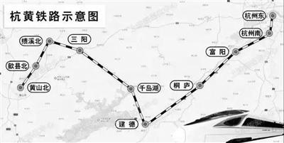 南京到黄山高铁时刻表出炉 下个月4个小时可直达黄山
