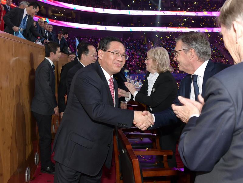 欢乐冰雪,健康中国!李强与群众代表共同启动第五届全国大众冰雪