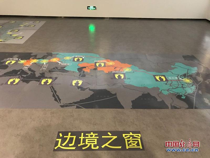 图为丝绸之路经济带上重要口岸 经济日报-中国经济网记者 秦爽/摄