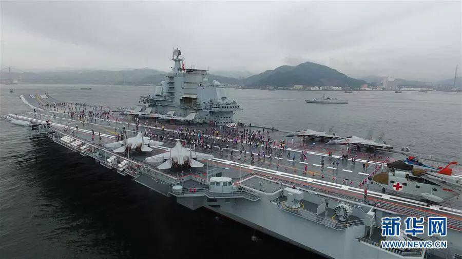 資料圖:遼寧艦
