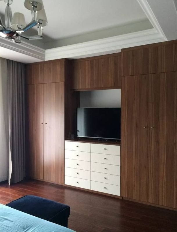 卧室衣柜+电视柜的n种组合,实用又舒心!