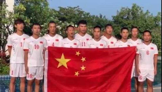 打进15球未丢1球 中国盲人足球队三战全胜出线
