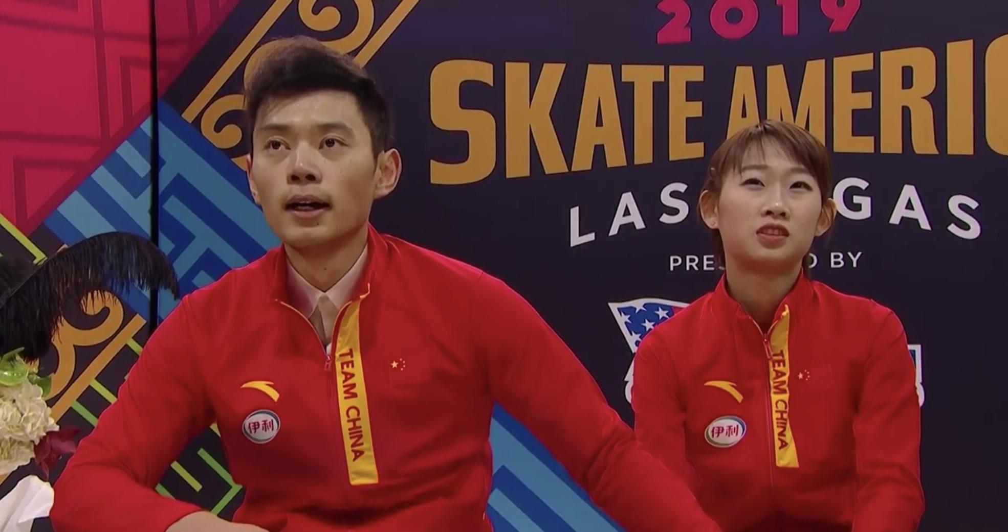 首获大奖赛双人滑冠军,彭程/金杨的努力得到回报