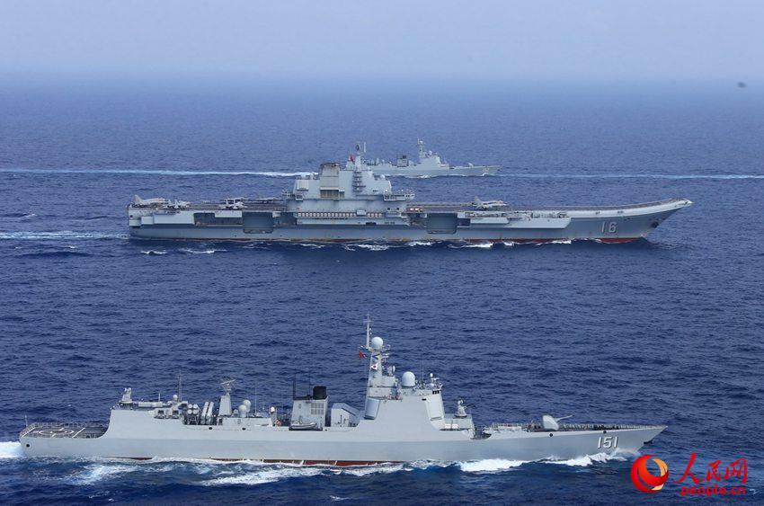辽宁舰已具备战力 但中国航母数量吨位还需快速跃升马吉亮