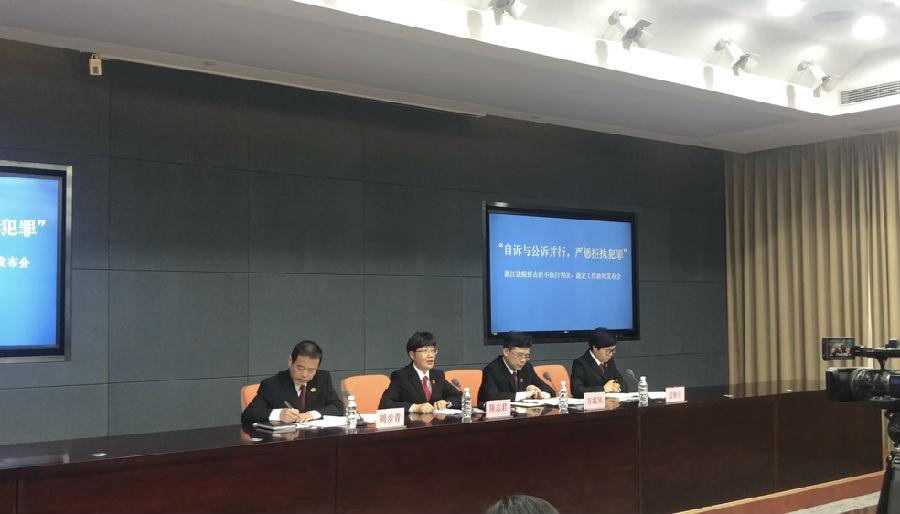 拒不执行判决裁定犯罪!这些人和单位被浙江省高院曝光