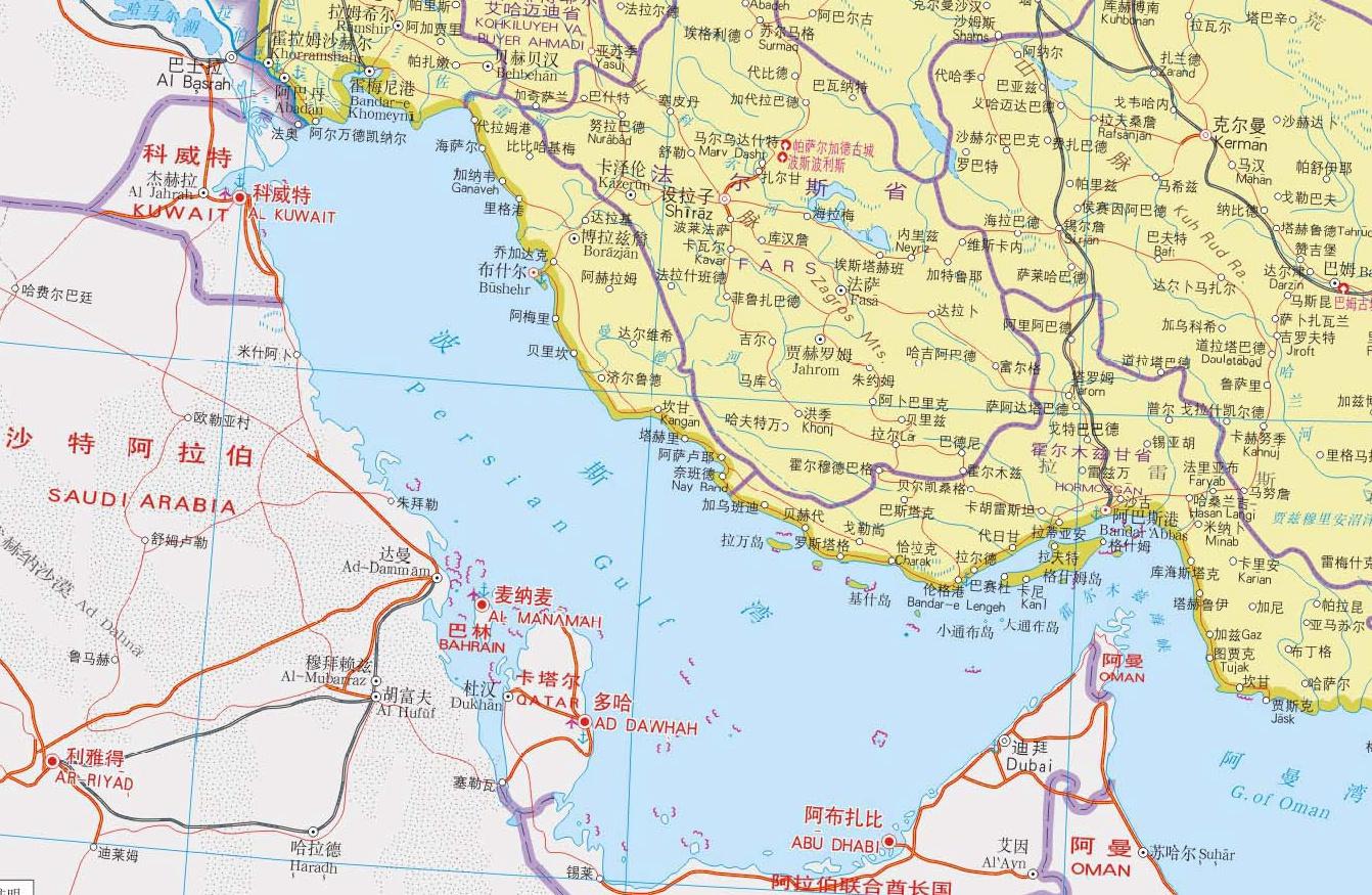 马克龙给波斯湾起新名 伊朗:跟你的军事部署一样错