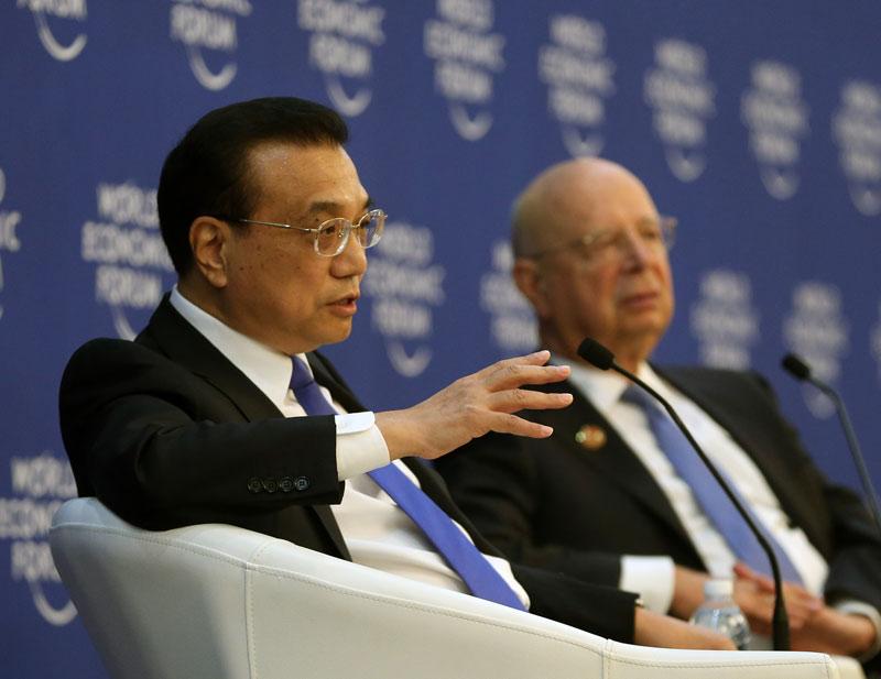 李克强:3年后有外企获中国金融业全牌照全股比资格