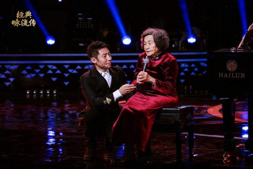 88岁耄耋老人登顶《经典咏流传》年度盛典