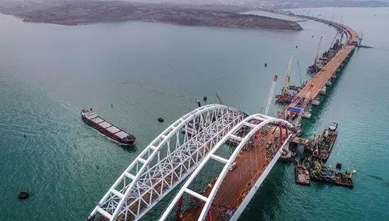 ▲克里米亚大桥