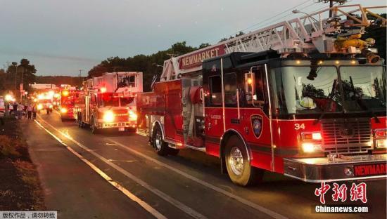 美国马萨诸塞州70地发生爆炸并起火 已致1死10伤
