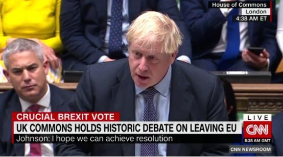 英国工党领袖科尔宾:人民应该对脱欧最后说了算