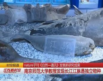 南京师大教授最新研究成果:长江江豚是独立物种