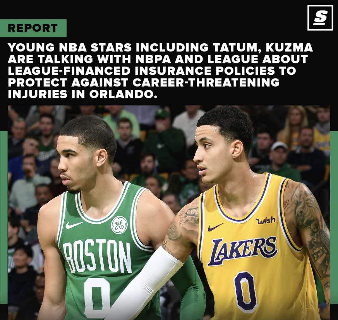 担心顶薪合同泡汤,塔图姆等NBA新秀寻求伤病保障图片