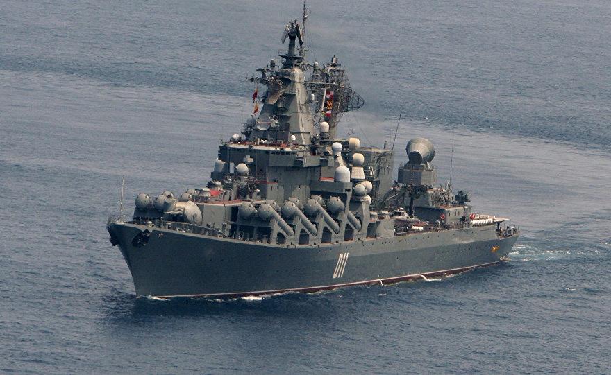 资料图:俄罗斯瓦良格号巡洋舰