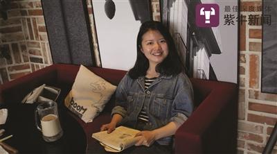 励志女孩江梦南。受访者供图