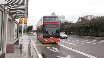 肇慶4輛雙層觀光巴士上路 異