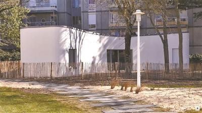 法国3D打印房屋项目Yhnova.图片来源网络-3D打印房屋全球开花