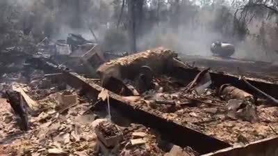 美国加利福尼亚州发生森林火灾,目前为止约4000人被疏散。
