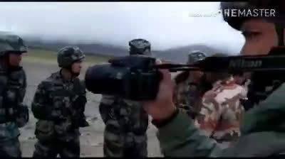 印度军人拍摄的当年中印边境对峙的视频流出