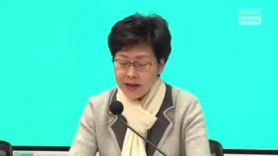 林郑:已致函国务院求助确保香港口罩稳定供应