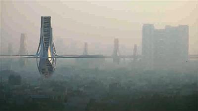 """""""银色巨塔""""能为德里去雾霾?"""