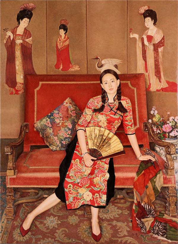中国美协油画艺委会委员作品展于11日开幕