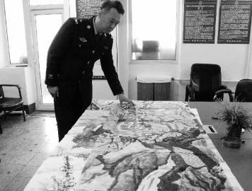 警方查获的被诈骗的部分书画作品 本组图片 N8