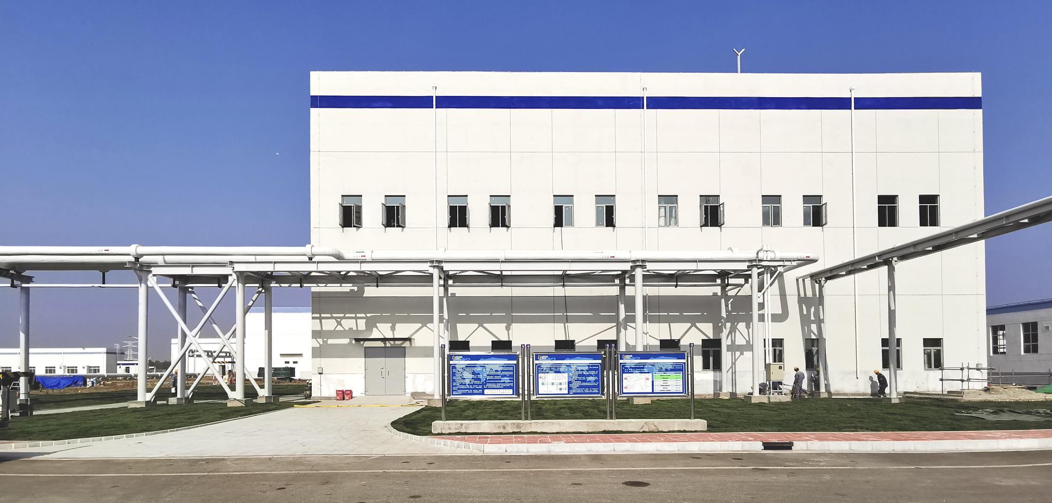 海阳核电厂内换热首站。山东核电公司供图