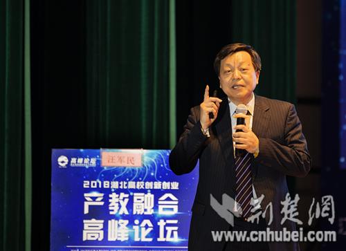 2018湖北高校创新创业产教融合高峰论坛在汉召开