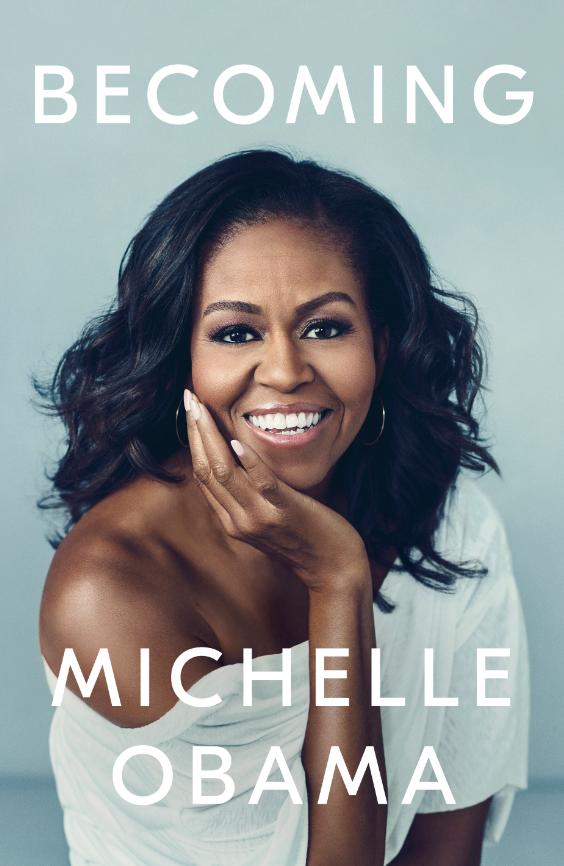 """前""""第一夫人""""米歇尔·奥巴马回忆录《成为》封面(美联社)"""
