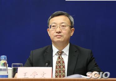 商务部副部长兼国际贸易谈判副代表王受文(元绍达 摄)