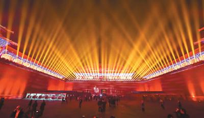 立体中国论坛网址_通过设定不同的灯光强度,产生光影对比,使其在夜间自然产生立体感