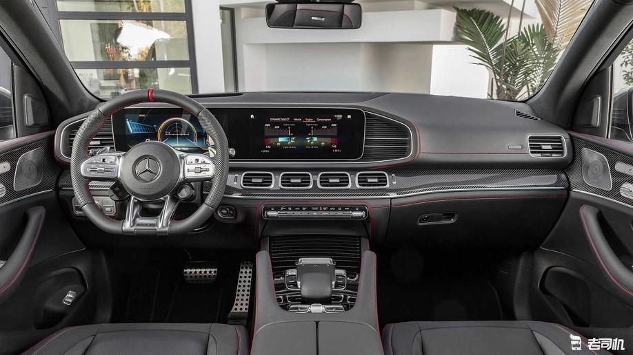高性能大型SUV你会选谁?AMG GLS 63最新谍照