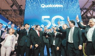 高通与行业合作伙伴共享5G时刻。高通供图