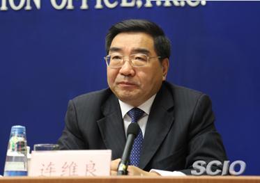 国家发展改革委副主任连维良(元绍达 摄)