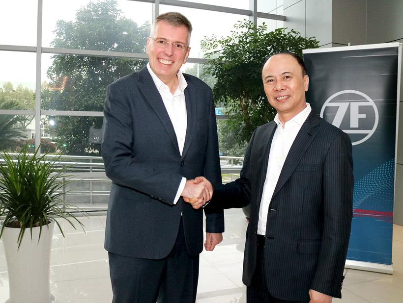 采埃孚与卧龙电气驱动集团成立合资公司,生产电机和部件
