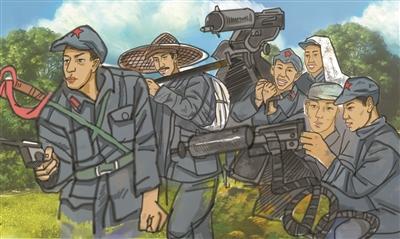 官教兵、兵教官群众练兵运动