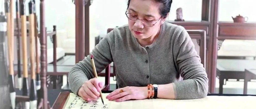 孙晓云写小字,神韵直逼董其昌