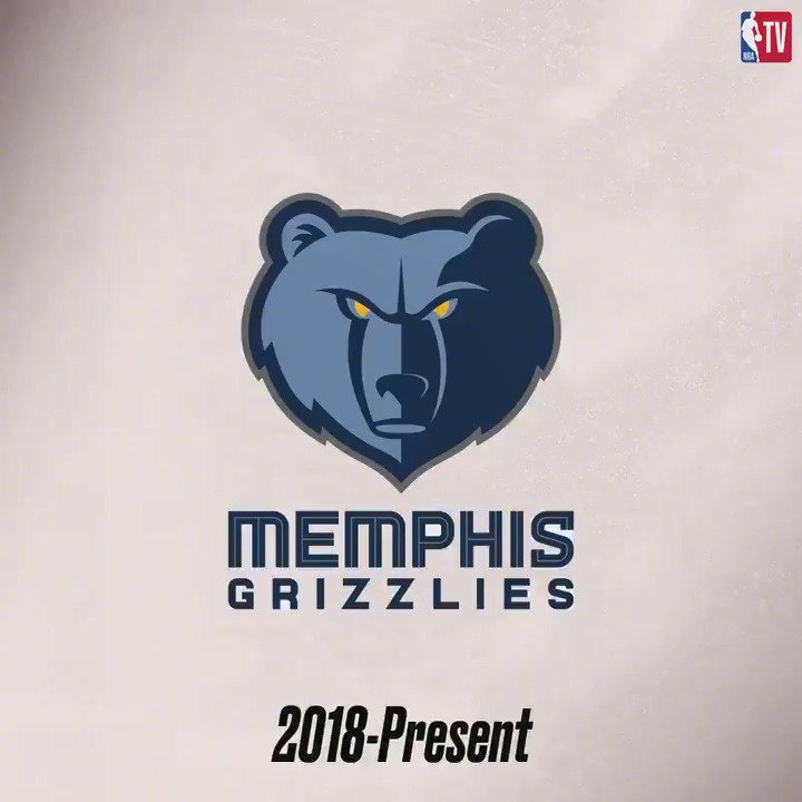灰熊球队日——灰熊队史logo变化