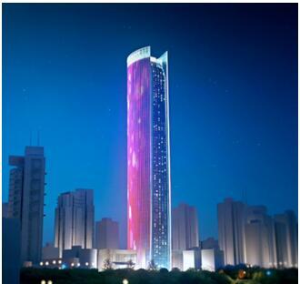 北京新网互联科技_重庆母城夜景新网红:海航保利国际中心
