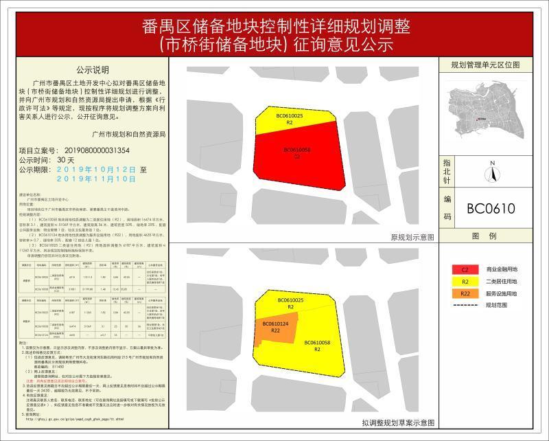 广州居住用地太少?番禺或增4宗居住用地!