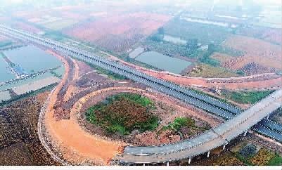 湖南省益南高速公路 建设顺利推进