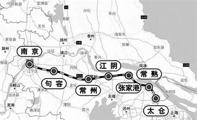 南沿江城际铁路初步设计获批