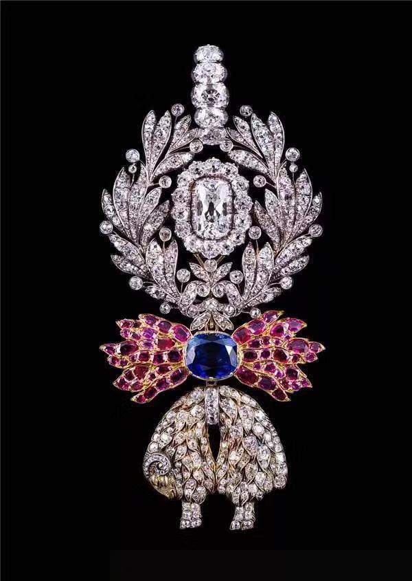 展出的珠宝珍品