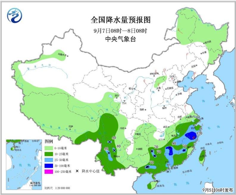 冷空气开始发威 中东部地区将有风雨天气