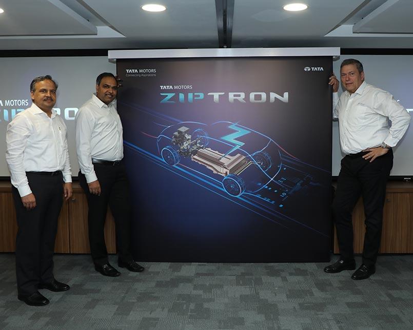 顺应电气化 塔塔汽车推出尖端电动汽车技术ZIPTRON