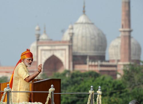 资料图片:印度总理莫迪。新华社发