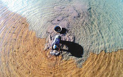 图片新闻:浙江台州三门县浦坝港镇耕海整滩发展经济