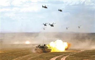 我军实战化军事训练迈入新时代坐标系