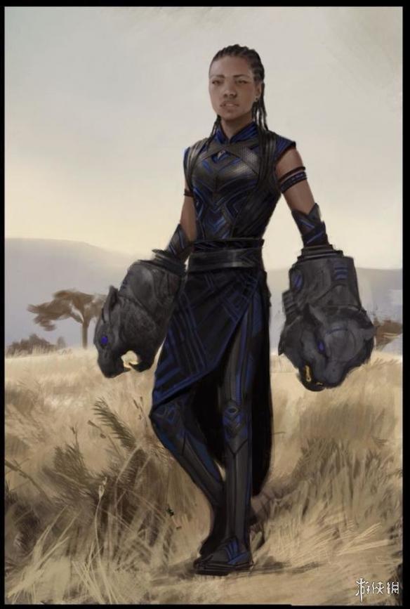 《黑豹》官方原画设定图放出 感受神秘未来的世界!